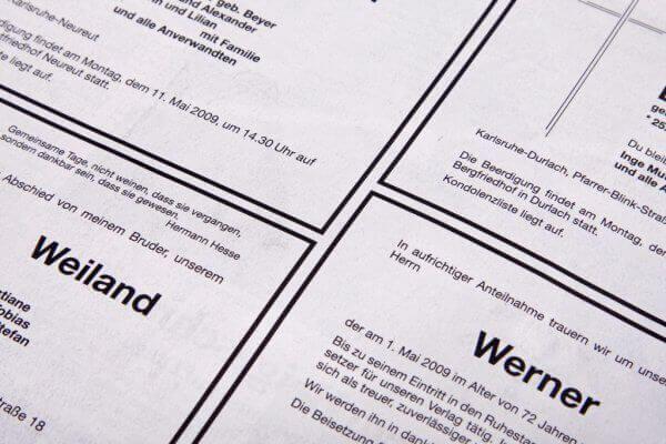 Bestattungsablauf mit Beratungsgespräch in Stuttgart