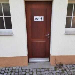 Friedhof Untertürkheim Toilette Herren