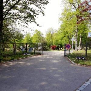 Friedhof Untertürkheim zweiter Eingabsbereich