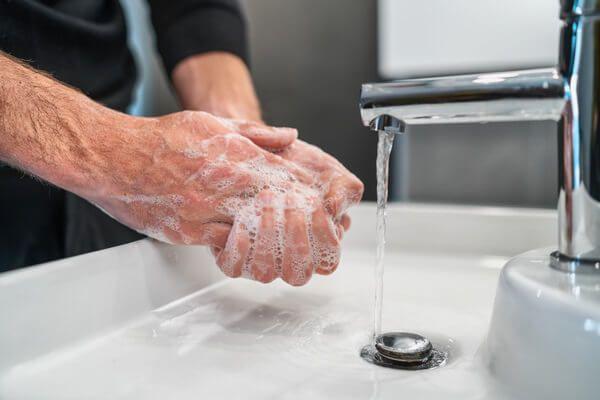 Hygieneplan - Hände waschen