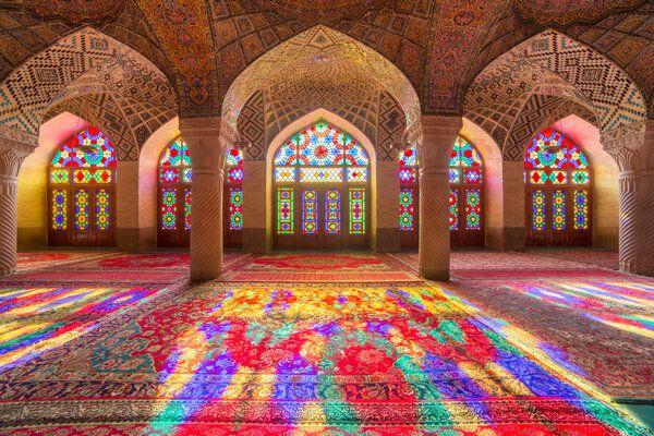 Pinke Moschee - Islam