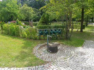 Waldfriedhof Gerlingen Brunnen