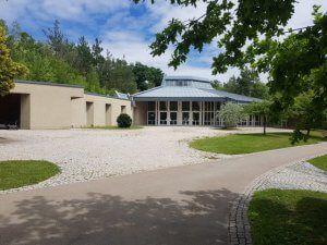 Waldfriedhof Gerlingen Gebaeude